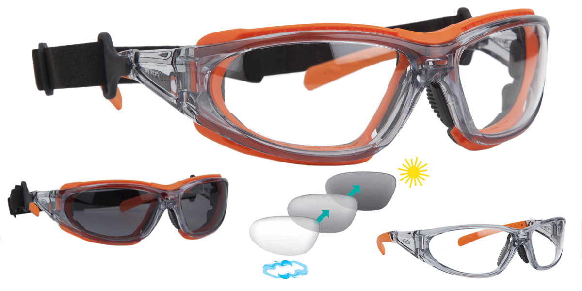 Mirador - Clear Anti Fog+ Photochromic